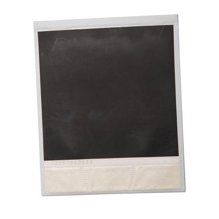 Photo pour an original polaroid on white background - image libre de droit