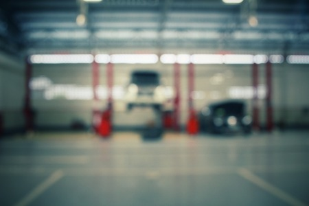 Photo for Blurred of repair service station - Royalty Free Image