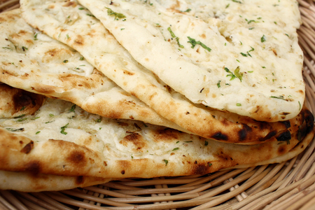 Photo for Indian naan bread - Royalty Free Image