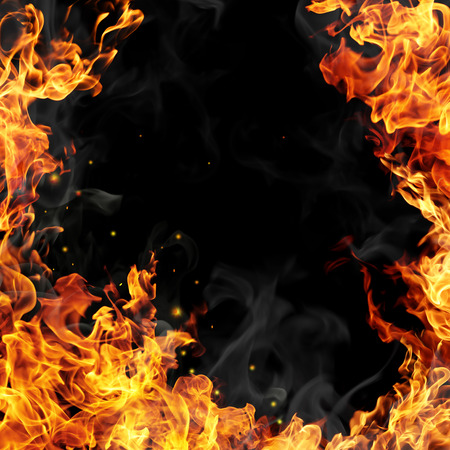 Photo for Fire flames - Royalty Free Image
