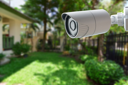 Photo for CCTV Security Camera - Royalty Free Image