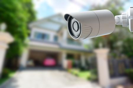 Foto de CCTV Security Camera - Imagen libre de derechos
