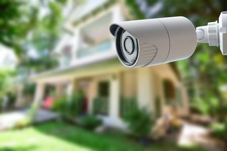 Photo pour CCTV Security Camera - image libre de droit