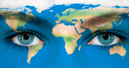 Foto de Earth eyes - Imagen libre de derechos