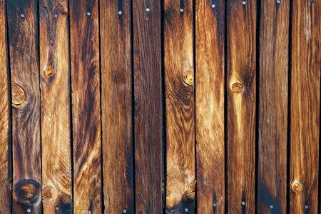Foto de Old rough wooden wall - Imagen libre de derechos