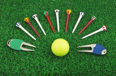 Photo of a golf set accessory