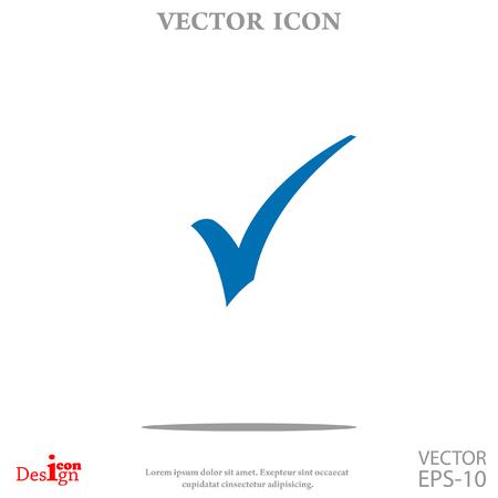 Illustration pour ok vector icon - image libre de droit