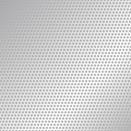 Illustration pour Carbon Fiber Texture. Black and White Halftone Vector Background. Abstract Technology Vector Template. - image libre de droit