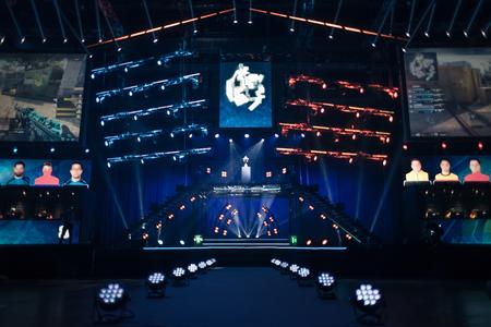 Photo pour Electronic games tournament is looking for its winner - image libre de droit