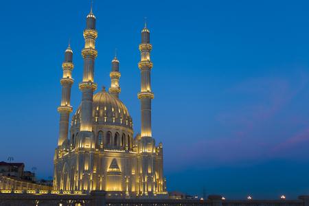 Foto de Mosque in Baku, Azerbaijan - Imagen libre de derechos