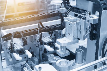 Photo pour The pneumatic production machine.New manufacturing process. - image libre de droit