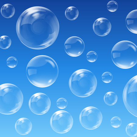 Illustration pour Bubbles background - image libre de droit