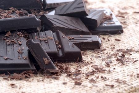 Photo pour Dark chocolate - image libre de droit