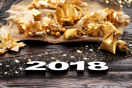 Photo for Happy New Year 2018 - Royalty Free Image
