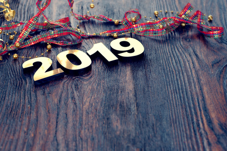 Photo for Happy New Year 2019 - Royalty Free Image