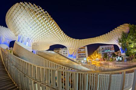 Foto de Metropol Parasol in Sevilla - Imagen libre de derechos