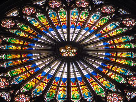 Foto de window of Notre Dame - Imagen libre de derechos