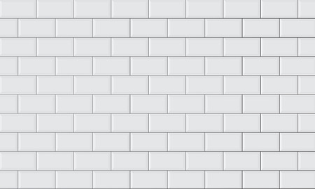 Illustration pour ceramic brick tile wall - image libre de droit