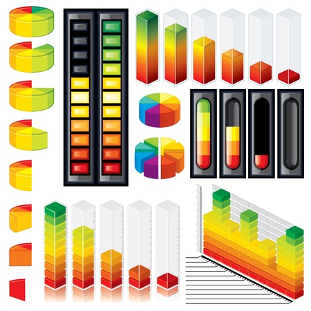 Foto de Customizable Graphs and Scales - Imagen libre de derechos