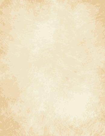 Ilustración de A very high detailed Full vector design for a light old paper - parchment - Imagen libre de derechos