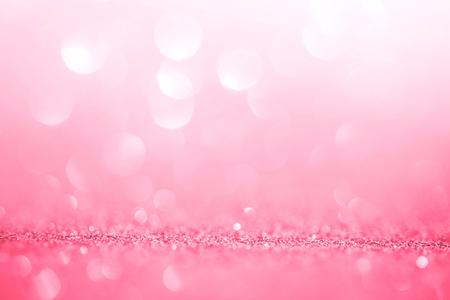 Foto de Abstract pink light for the romance background and valentines day - Imagen libre de derechos