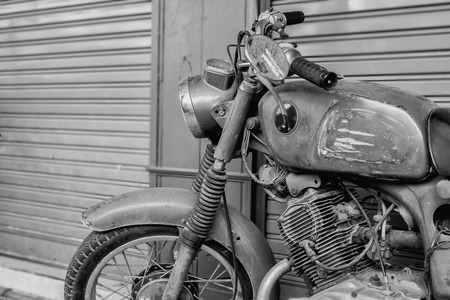 Foto de Vintage motorcycle. - Imagen libre de derechos