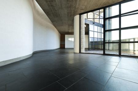 Photo pour interior modern villa, passage and living room - image libre de droit