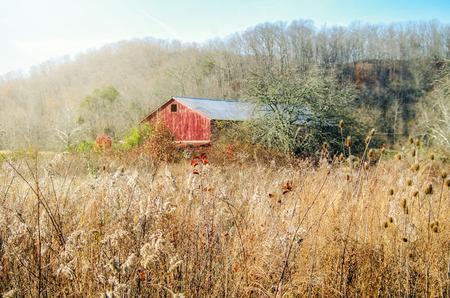 Foto de Red Barn - Imagen libre de derechos