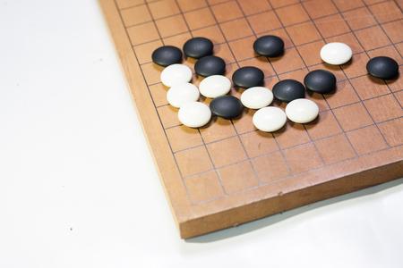 Photo pour Go is a game for strategy which develop mind - image libre de droit