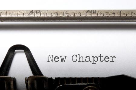 Foto de New chapter  - Imagen libre de derechos