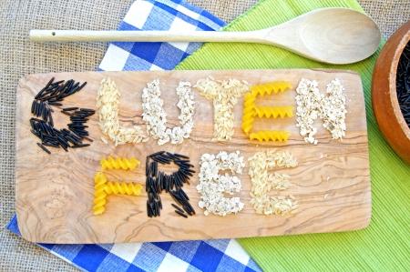 Photo pour Gluten free  - image libre de droit