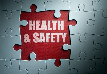 Photo pour Health and safety - image libre de droit