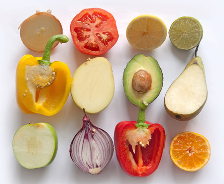 Foto für Fruits and vegetables - Lizenzfreies Bild