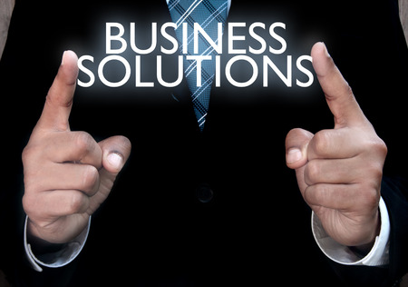 Photo pour Business solutions - image libre de droit
