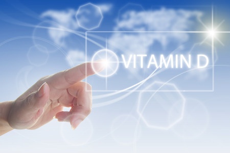 Photo pour Vitamin D concept - image libre de droit