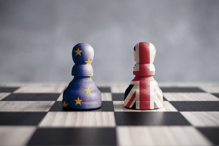 Photo for Brexit strategy concept - Royalty Free Image