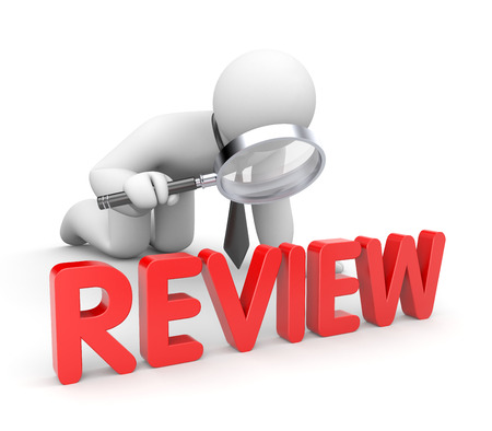 Photo pour Review - image libre de droit