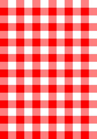 Illustration pour seamless checkered fabric background vector pattern - image libre de droit
