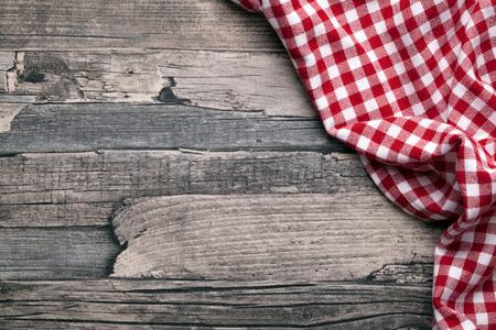 Photo pour checkered fabric red - image libre de droit