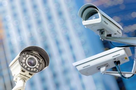 Foto de security camera and urban video - Imagen libre de derechos