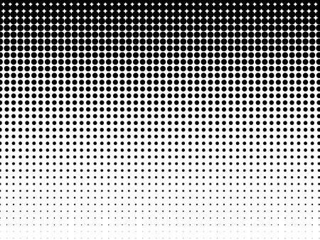 Ilustración de Halftone background  Black-white - Imagen libre de derechos