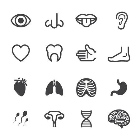 Illustration pour Medical Icons with White Background - image libre de droit