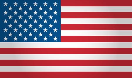 Illustration pour American flag background - image libre de droit