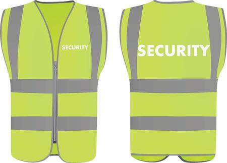 Ilustración de Security safety vest - Imagen libre de derechos