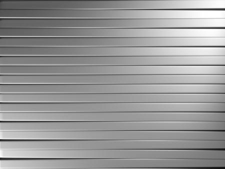 Aluminum stripe pattern background 3d illustration
