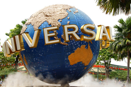 Photo for Universal Studios Singapore on Sentosa Island, Singapore. - Royalty Free Image
