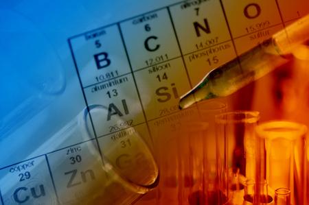 Foto de science lab with chemical theme - Imagen libre de derechos