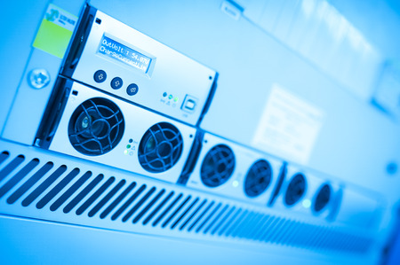 Foto de Uninterruptible power supply you can trust on it if there is . - Imagen libre de derechos