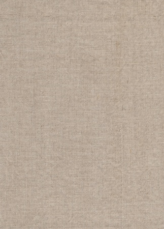Natural linen fabric textured background