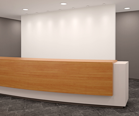 Photo for Reception in modern office - Royalty Free Image